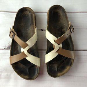 Birki's Sylt two tone Sandal